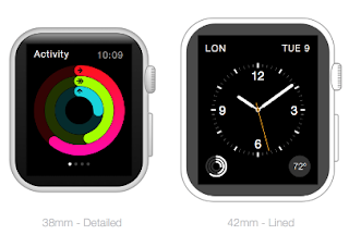 Apple Watch Frames for Sketch