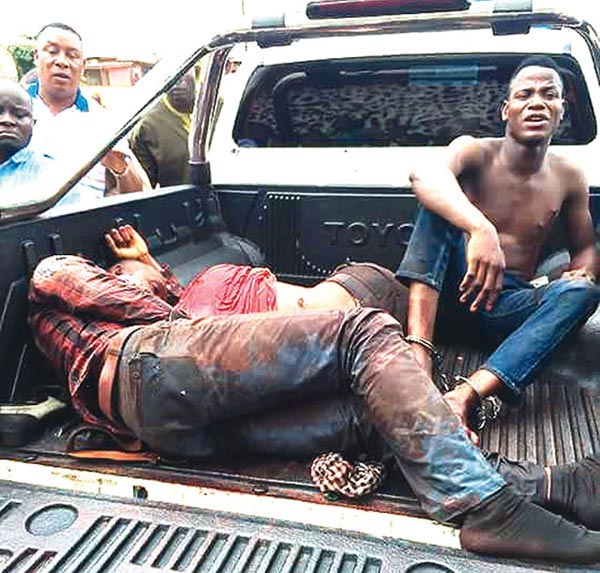 Bankers inform us when someone withdraws big money - robber who attacked police inspector