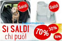 Logo Summer Sales per prodotti cani, gatti e altri piccoli animali : sconti fino al 75%! Affrettati!
