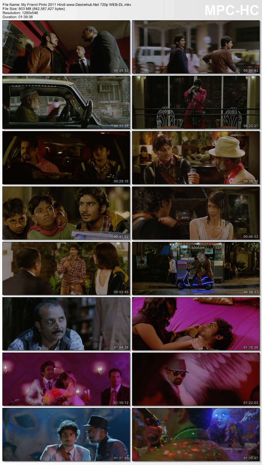 My Friend Pinto (2011) Hindi 720p WEB-DL 800MB Desirehub