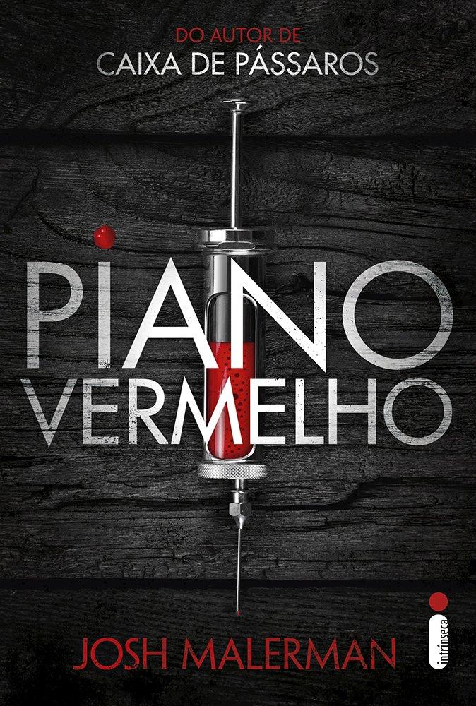 Capa do livro Piano Vermelho