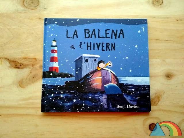 Portada del libro La Ballena en Invierno de Benji Davies