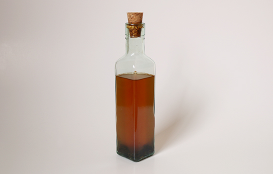 A Bottle of Homemade Vanilla Extract