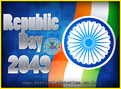 2049 Republic Day of India Date, 2049 Republic Day Calendar