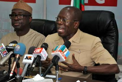 Oshiomhole Wants To Set Our State On Fire - APC Leaders