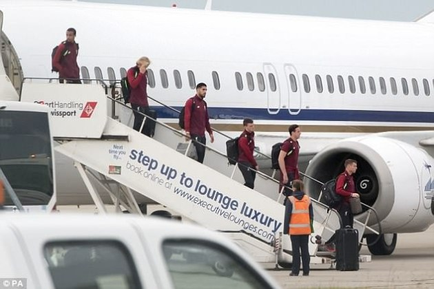 Liverpool return home