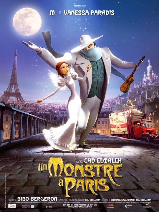 un monstru la paris 2011 dublat în română desene animate dublate