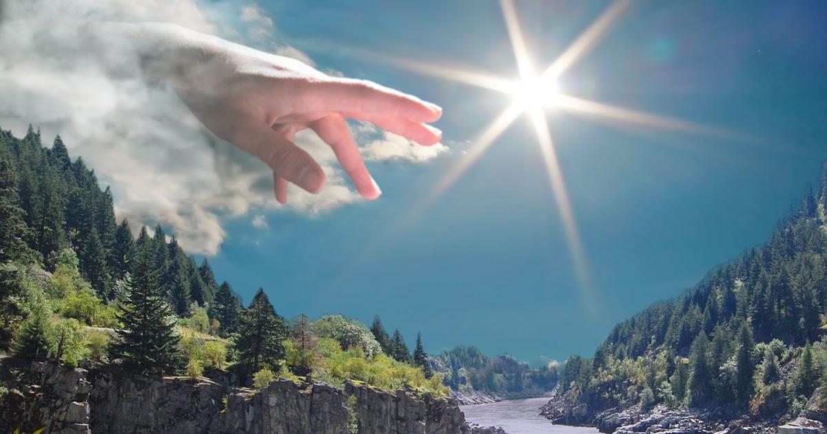 Imagens De Deus Segurando Uma Mão