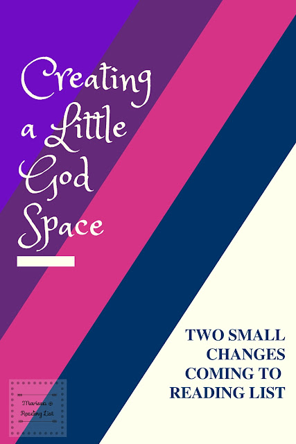 Creating a Little God Space in Reading List