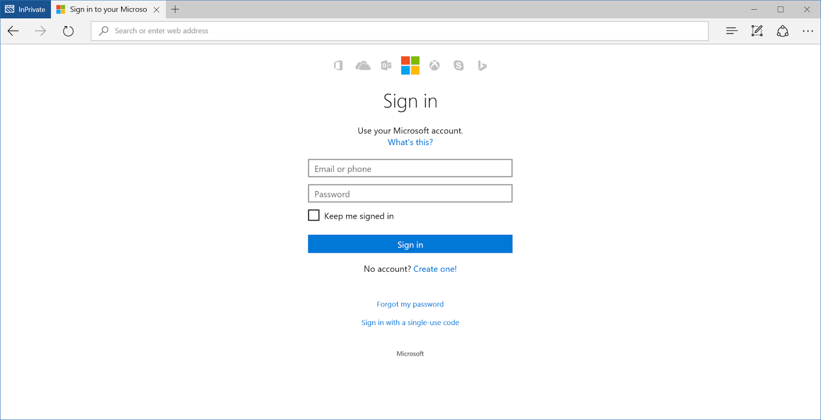 Microsoft finally unified their login screen