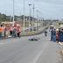 Motociclista fica gravemente ferido em acidente entre moto e carro na BR -101 norte