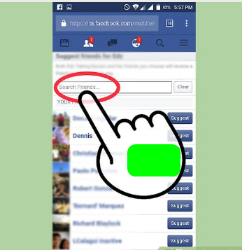 How to Suggest Friends on Facebook App