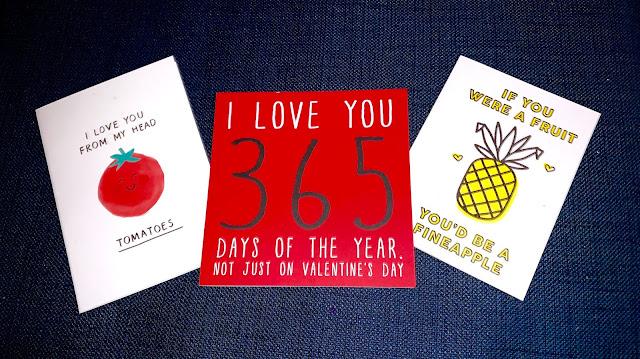 3 Valentine's Day Cards