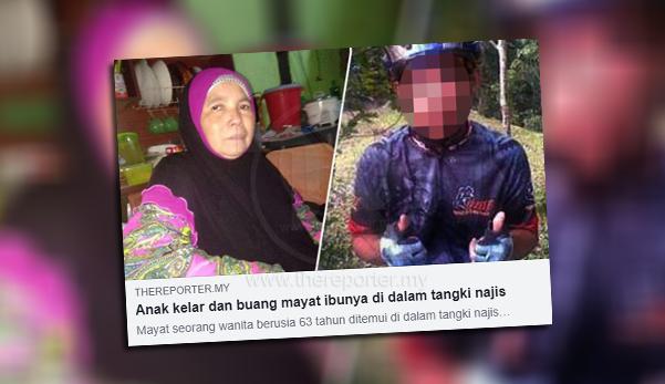 Suspek Yang Membunuh Dan Membuang Mayat Ibunya Ke Dalam Tangki Najis Di Belakang Rumah Berjaya Ditahan Polis Pada Jam 8 45 Pagi Hadapan Pejabat Kesihatan