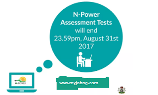 Npower Latest Update 2017 After NPower Assessment Test, What NEXT? See What's Next www.npower.gov.ng. In few days from now, the 2017 NPower Assessment test