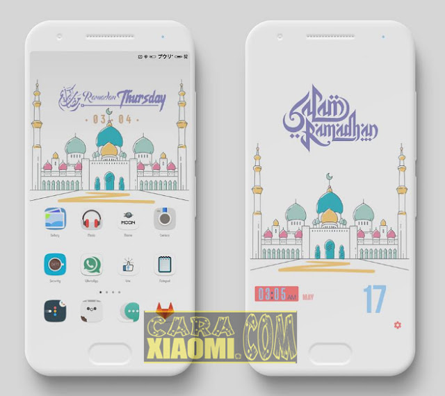 Thema MIUI Ramadhan Flat Light Mtz For Xiaomi Redmi Terbaru