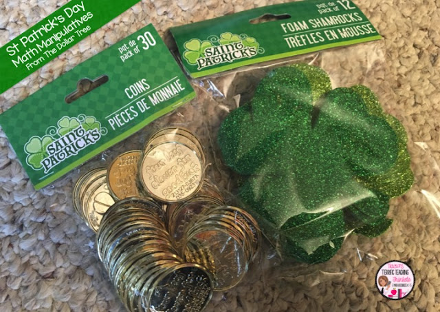 St Patricks Day Math Fun and Freebies