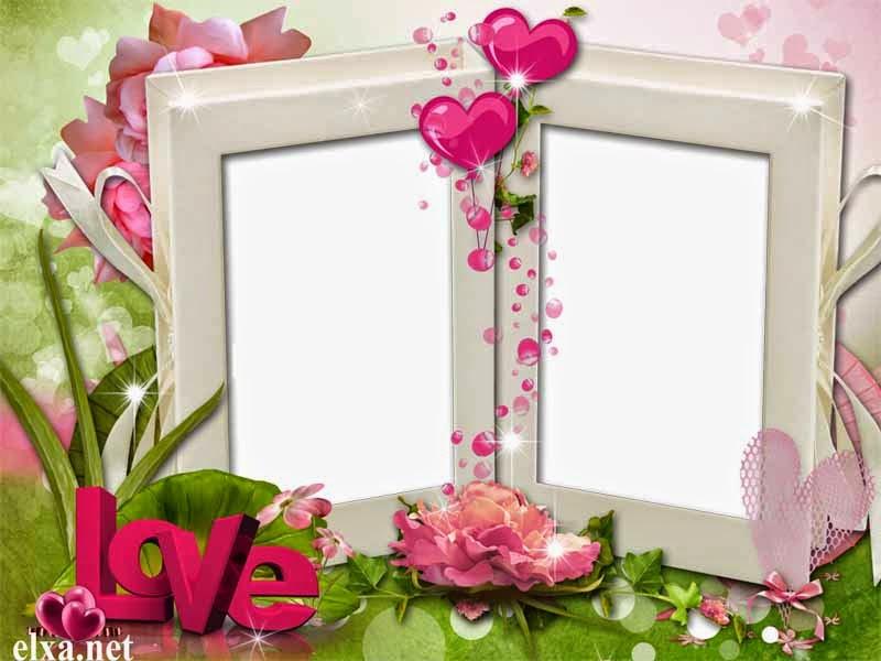 love frame psd free
