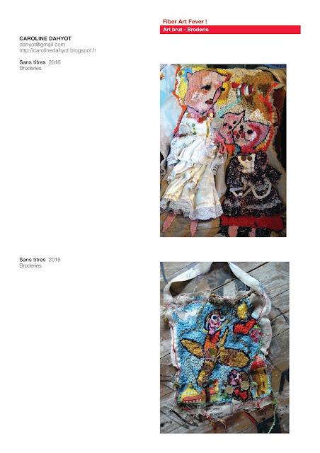 art brut, art textile, broderie