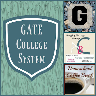 GATE College System (Blogging Through the Alphabet) on Homeschool Coffee Break @ kympossibleblog.blogspot.com