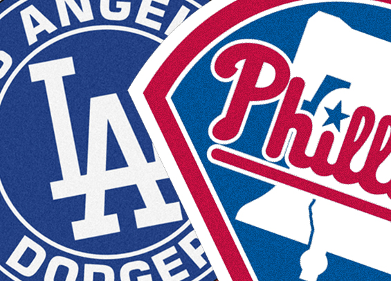 Philadelphia visits Dodger Stadium