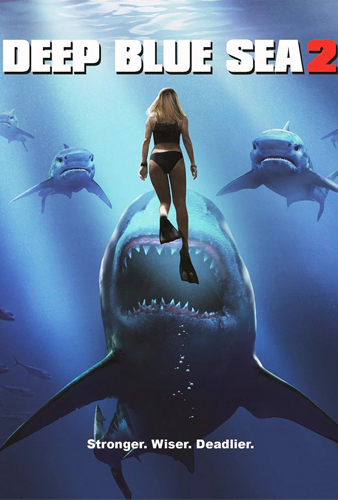 Deep Blue Sea 2 (BRRip 720p Ingles Subtitulada) (2018)