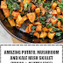 Amazing Potato, Mushroom and Kale Hash Skillet (Vegan & Gluten Free)