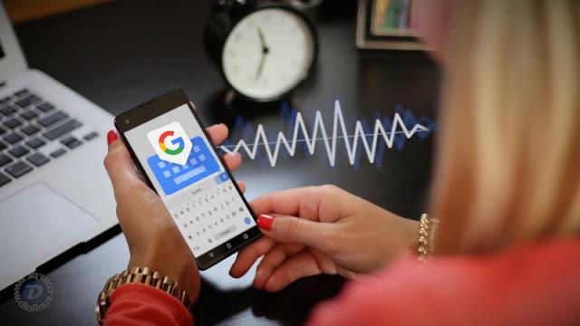 transcrição-narrar-voz-ditar-gboard-android-google