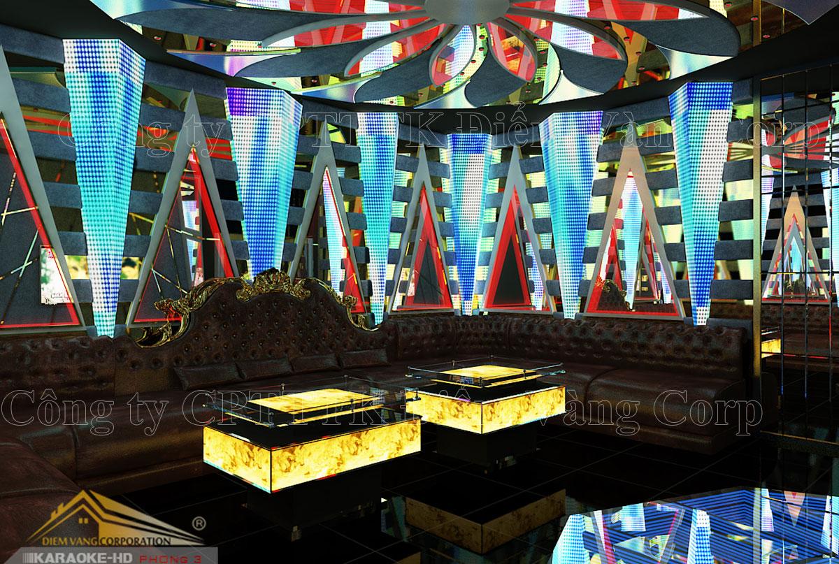 Thiết kế phòng karaoke 3D Ảnh Full chất lượng cao 37