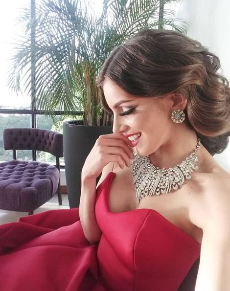 Beida Fossi Candidate of Miss Venezuela Miss Nueva Esparta 2018