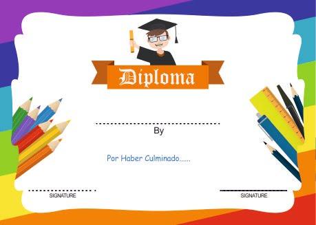 certificados y diplomas para editar e imprimir - Recursos Graficos