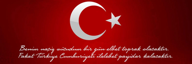 Twitter Türk Bayrağı Kapak Fotoğrafları Türk Bayrakları