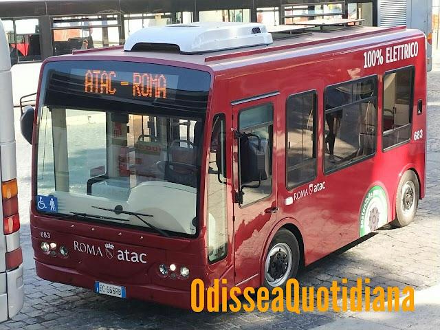 Atac, minibus elettrici: in funzione solo quattro linee in due anni