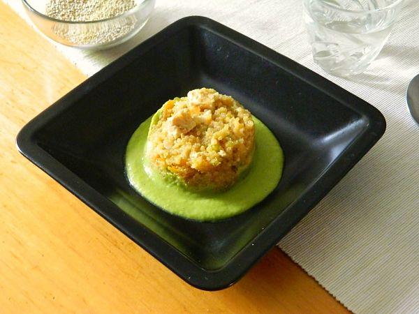 receta con quinoa y espárragos