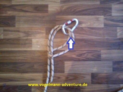 Sicherung Knoten HALB-MASTWURF-SICHERUNG - 4