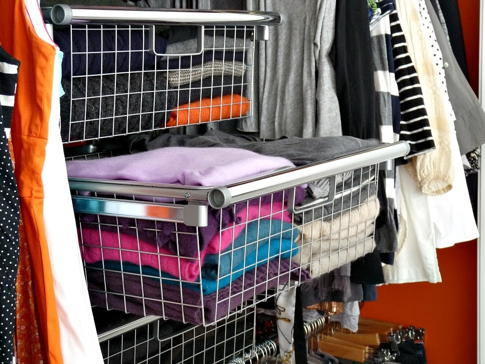 Rubbermaid Configurations Closet Organizer Basket Review