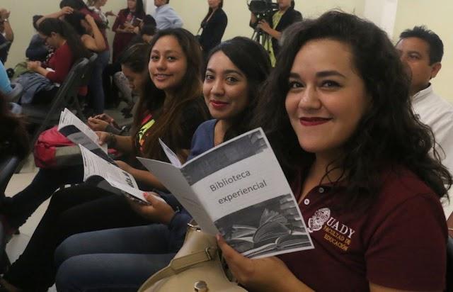 """Inauguran la """"Biblioteca Experiencial"""" de la Facultad de Educación"""