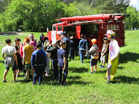 (ФОТО)Знакомство с пожарным автоцестерной