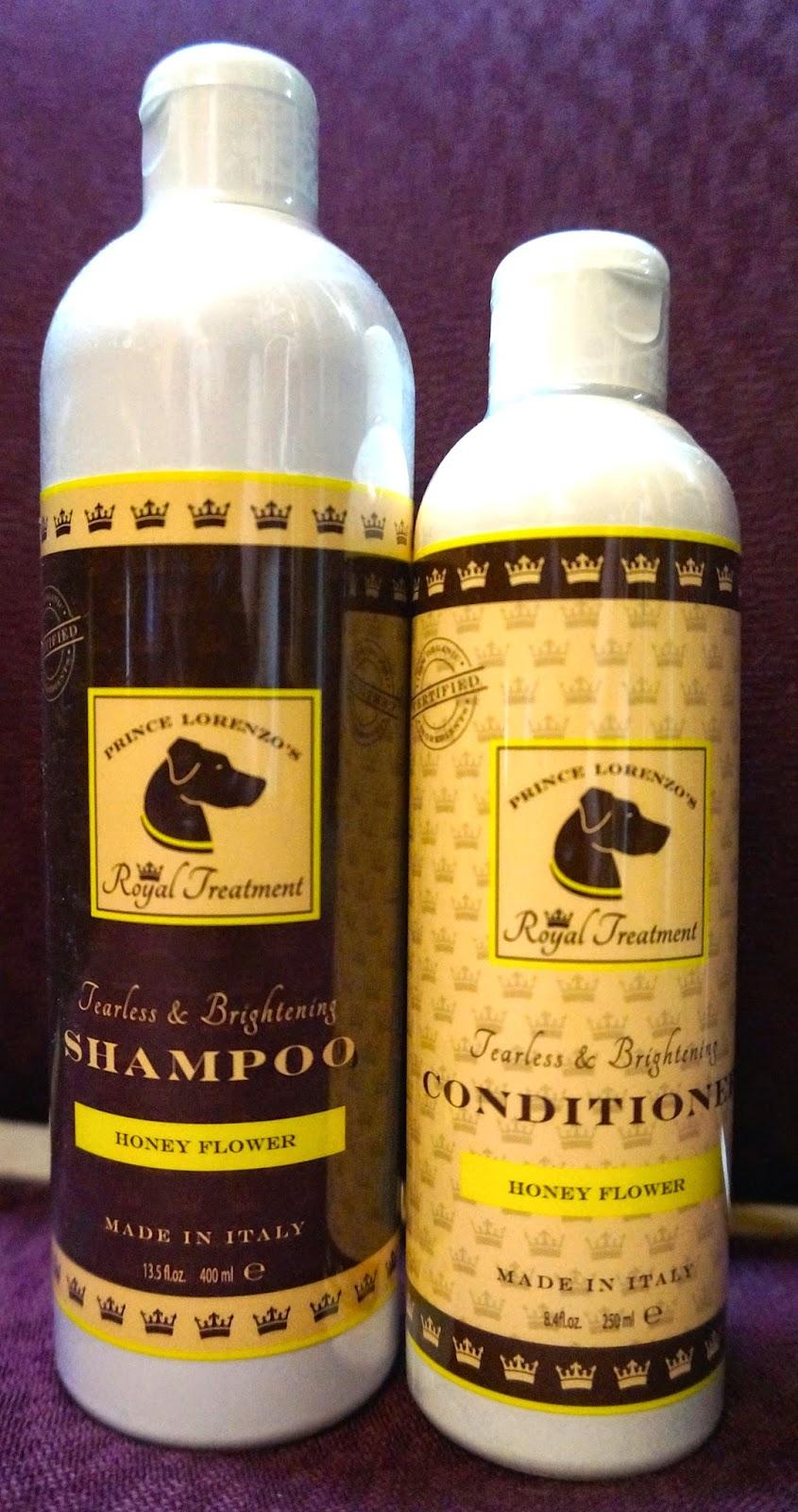 At the Fence: Royal Pet Club Organic Honey Flower Shampoo