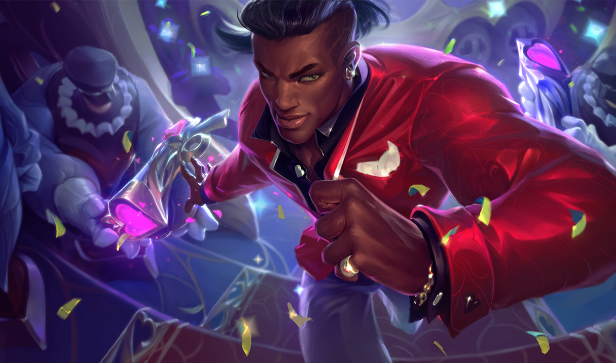 Surrender at 20: 1/5 PBE Update: HS Lucian Splash Art ...