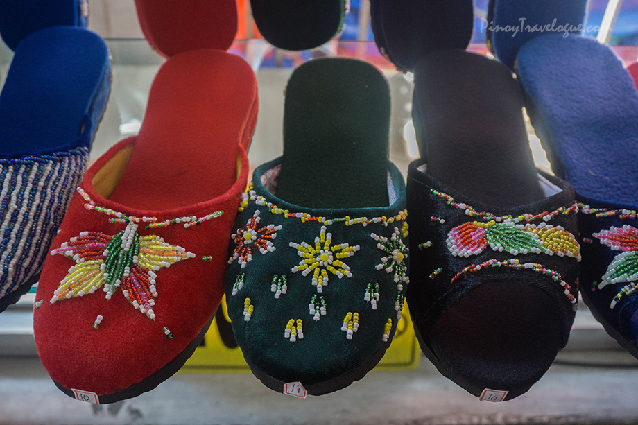 Colorful ladies' sandals