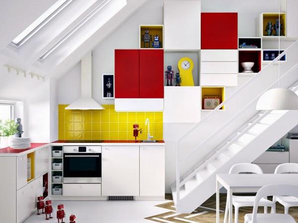 Cucina Salvaspazio Ikea : Consigli salvaspazio per cucine piccole rooms