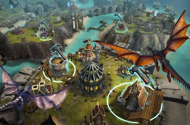 أفضل لعبة  لهواتف أيقون متوفرة الأن حرب التنين War Dragons New Games