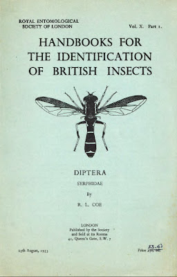 Front cover of Royal Entomological Society handbook