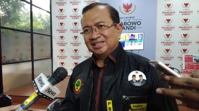 Wiranto Larang Massa ke Jakarta Jelang Pengumuman KPU, BPN: Tak Usah Panik