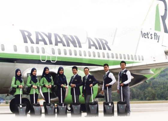 5 Fakta awesome mengenai Rayani Air