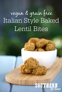 Italian Style Baked Lentil Bites Recipe