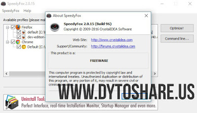 SpeedyFox 2.0.15 Build 96