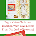 Begin a New Christmas Tradition With Love Letters From God (and a Giveaway)- Link up With Literacy Musing Mondays!