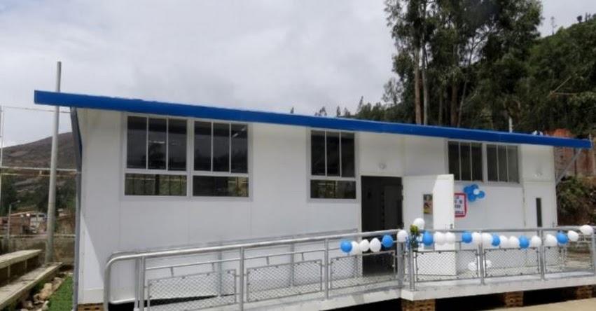 PRONIED: Alumnos de Paruro empezarán clases en modernas aulas prefabricadas - Cusco - www.pronied.gob.pe